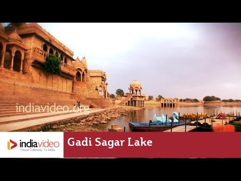 Gadi Sagar Lake — a man-made marvel