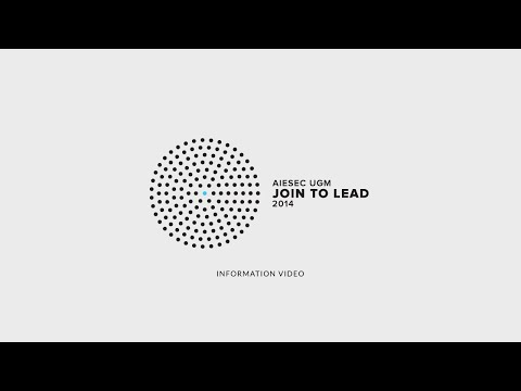Join to Lead '14 - Information Video