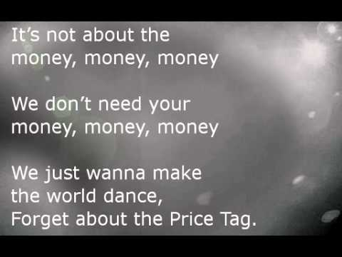 Price Tag Lyrics ( Cover by : Maddi Jane )