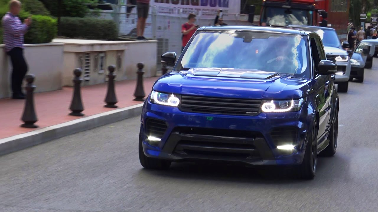 Overfinch Range Rover Sport Svr Supersport Loud Sound Revs And