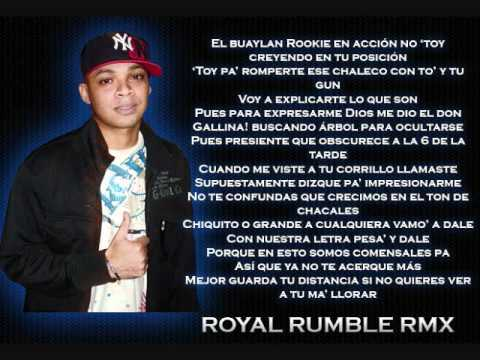 Royal Rumble - Se Van (Official Remix) - Muchos Artistas (LETRA) (2011)