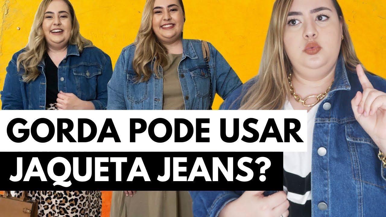 Como usar jaqueta jeans PLUS SIZE // por Ana Luiza Palhares •