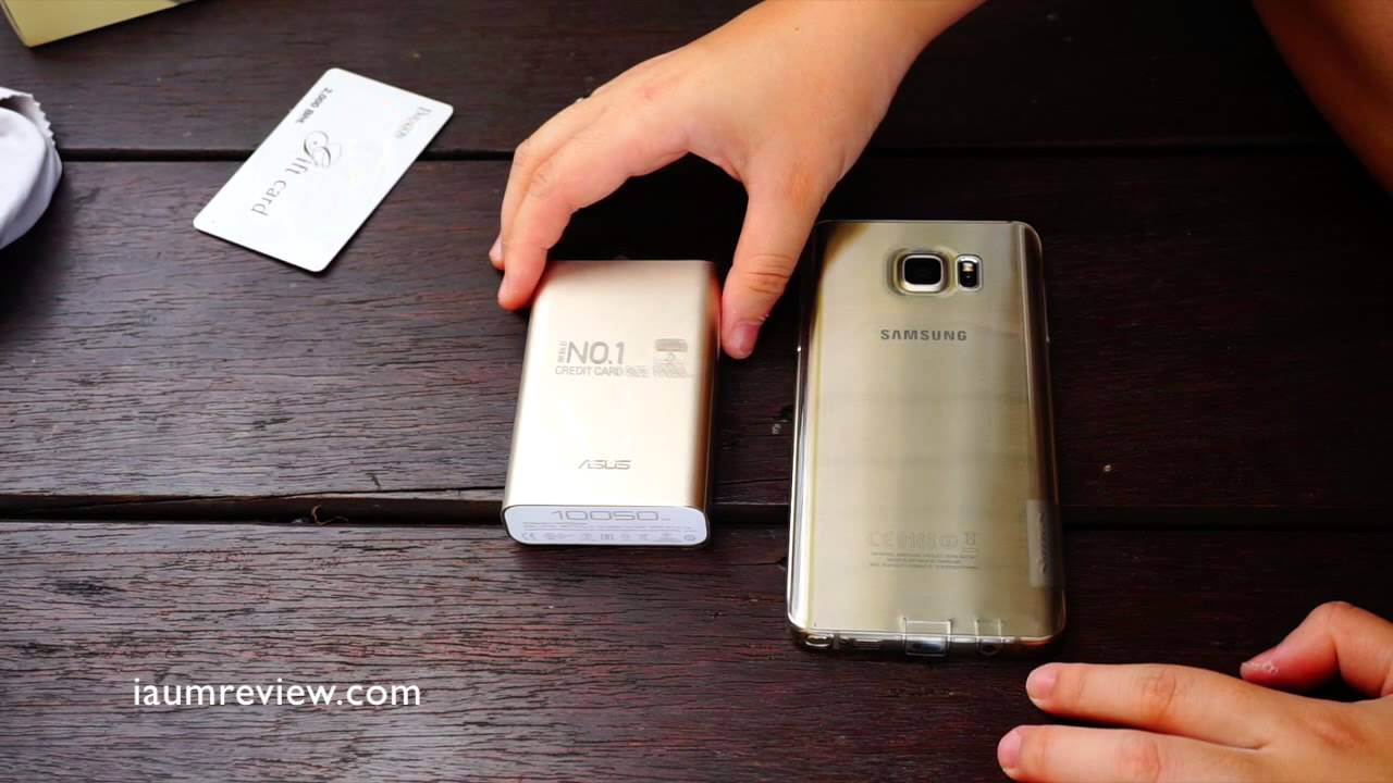 Asus Zenpower 10050 Mah Powerbank Youtube 10050mah Gold