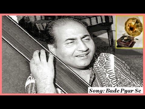 Mohd Rafi - Bade Pyar Se Milna Sabse (Bhajan)