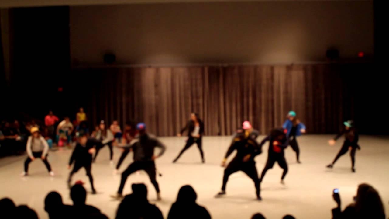 Dime a dance The Hip Hop Dance Club SUNY Brockport 12/6/2012 - YouTube