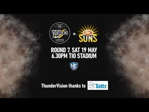 2018 NEAFL Rd 7 - NT Thunder v Gold Coast Suns