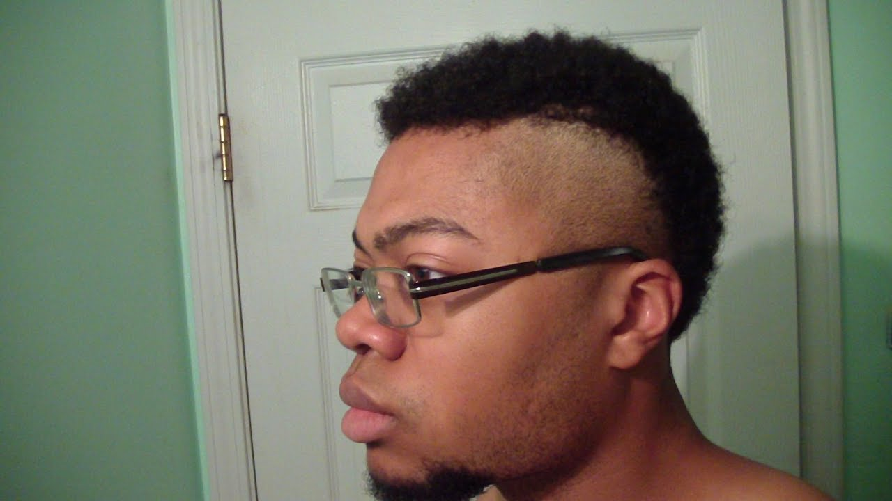 New 2015 Mohawk Fade Haircut Style For Men !!! - YouTube
