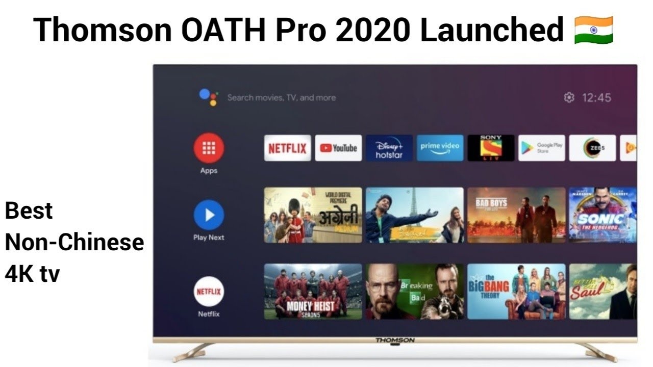 Thomson OATH Pro launched in India 🇮🇳 ⚡⚡ | Best non-Chinese tv is here