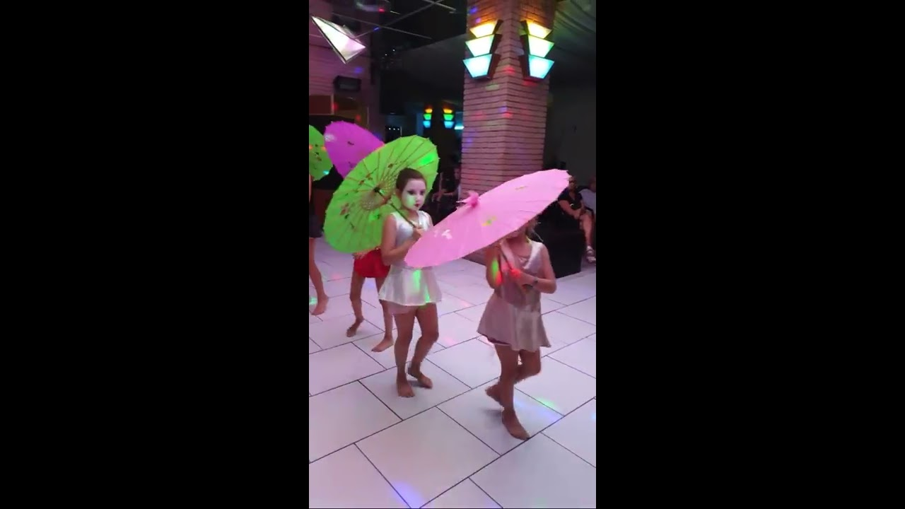 Miniclub Umbrella dance - 31 agosto 2018
