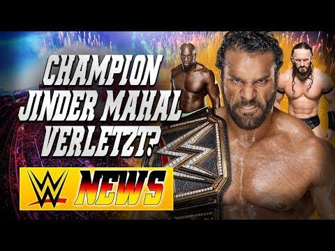 Jinder Mahal verletzt?, Update zu Neville, Titus O'Neil wird verklagt   WWE NEWS 74/2017