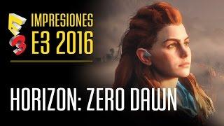 HORIZON: ZERO DAWN - Cazando bestias mecánicas en PS4