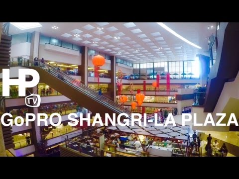 GoPro Shangri-La Plaza Mall Walking Tour Overview Ortigas Center Mandaluyong by HourPhilippines.com