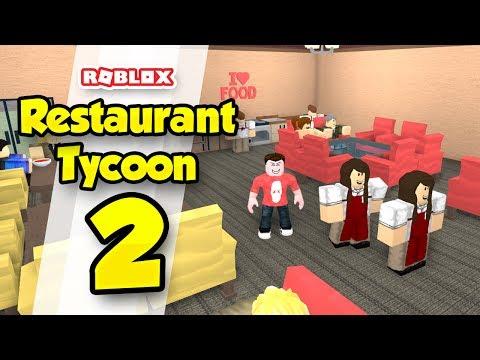 RESTAURANT TYCOON #2 - HIRING WORKERS (Roblox Restaurant Tycoon)