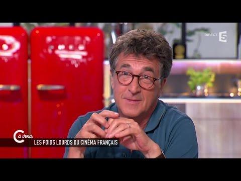 """Cluzet """"Mieux vaut un succès tardif qu'être has been à 40 ans"""" - C à vous - 18/06/2015"""