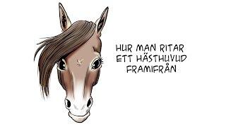 bilder på ritade hästar