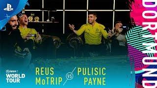 FIFA 19 World Tour - Reus & MoTrip vs Pulisic & Payne | PS4