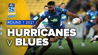 Super Rugby Aotearoa | Hurricanes v Blues - Rd 1 Highlights