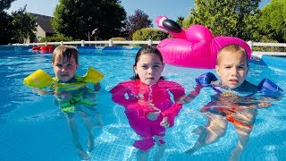 Pool Party GIANT Pink Flamingo! Summer Fun