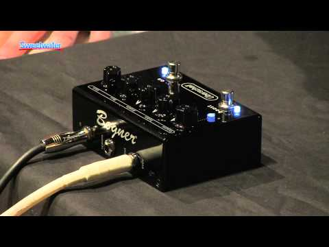 Bogner Uberschall Guitar Preamp Pedal Demo - Sweetwater Sound