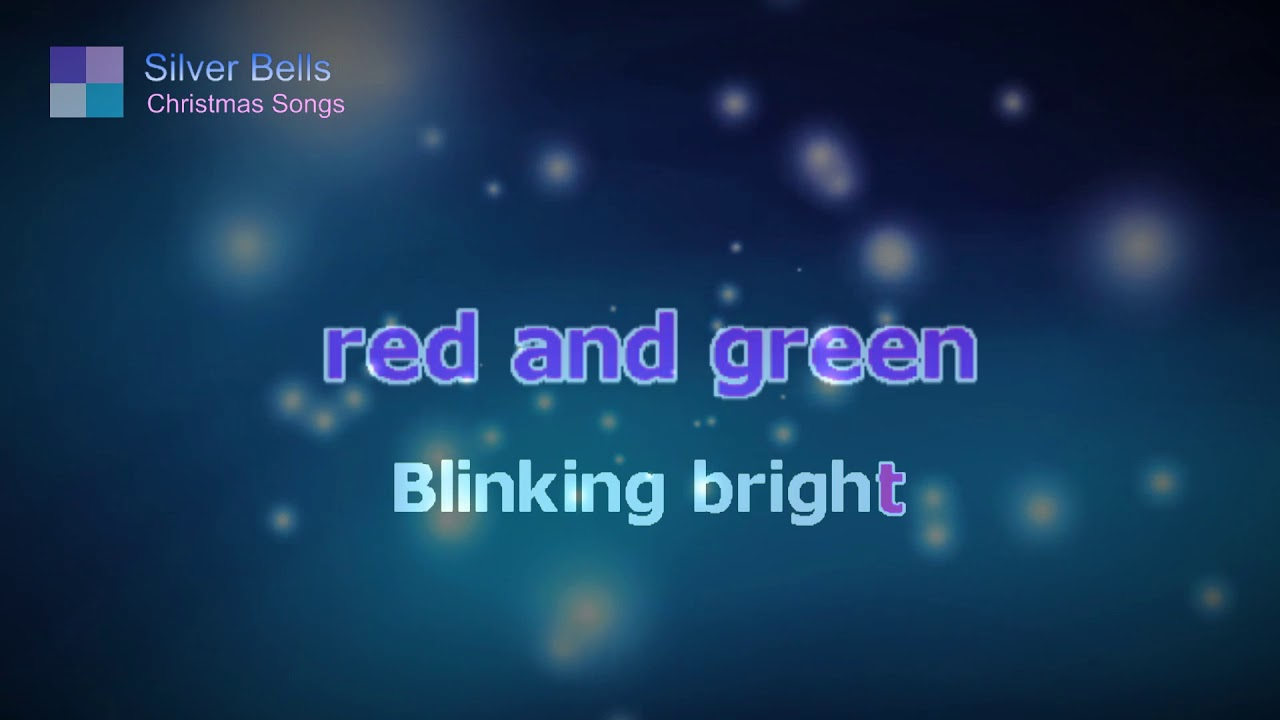Silver Bells ♦ Christmas Song ♦ Karaoke ♦ Cover Song