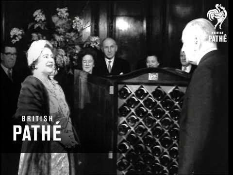 Queen Mother At Australia House (1960)