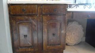 Faux Cabinet & Furniture Wood Grain