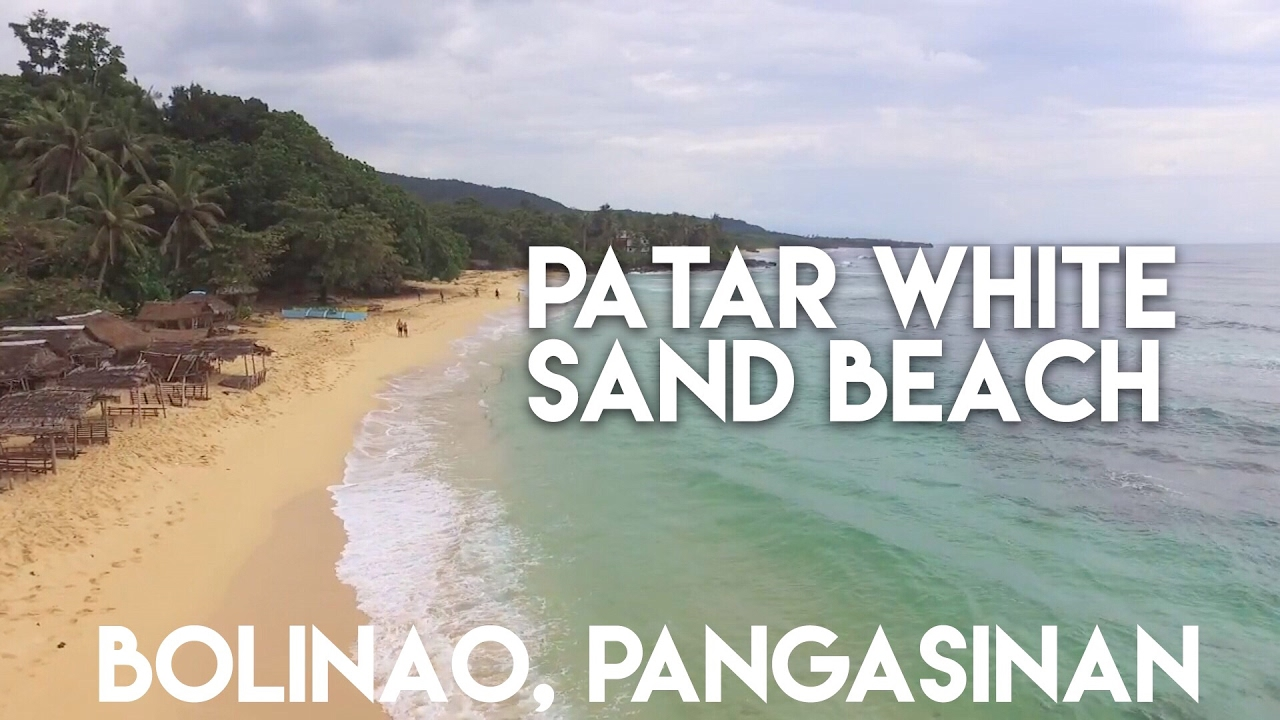When In Bolinao Patar White Sand Beach Pangasinan