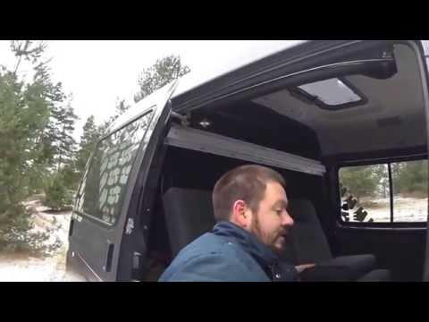 Рассказ про раскладные диваны в ГАЗ Соболь 4х4