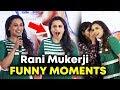 Rani Mukerji FUNNY MOMENTS | Oye Hichki Song Launch | Hichki