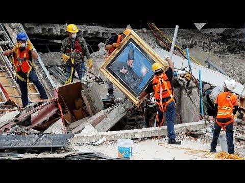 Động đất 5 9 độ Richter ở Oaxaca, Mexico