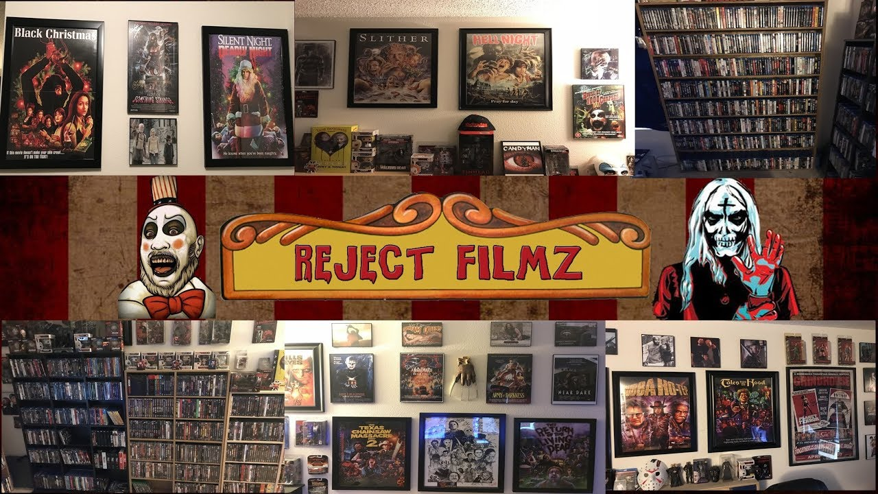 Download Complete Blu-Ray/DVD Collection & Room Tour Overview 2018