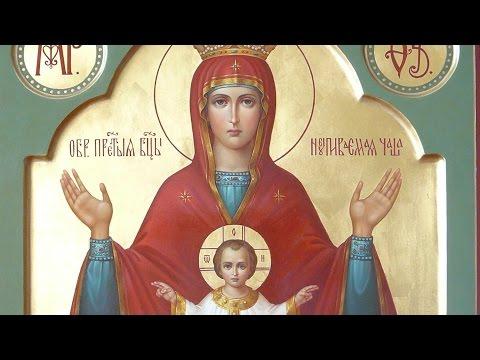 Икона Божией Матери «Неупиваемая Чаша» (1878) - ПРАЗДНОВАНИЕ 18 МАЯ!