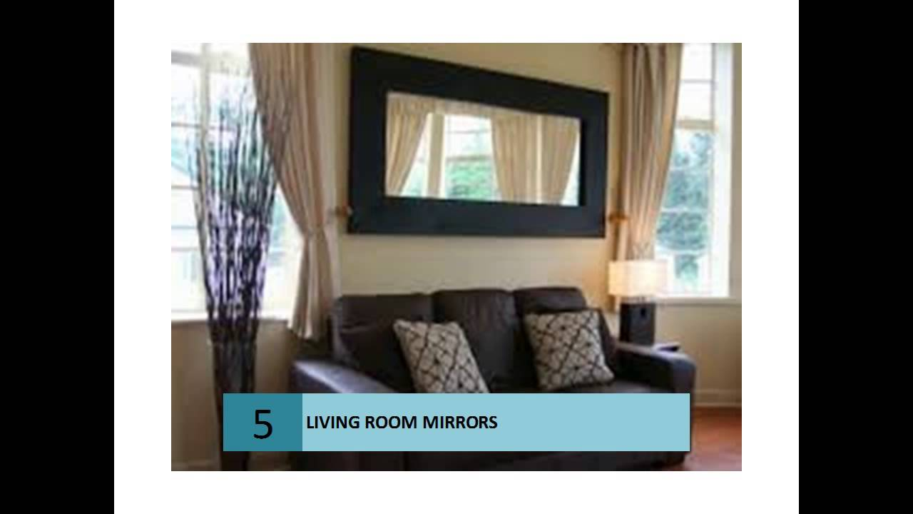 Modern mirrors for Living Rooms - YouTube