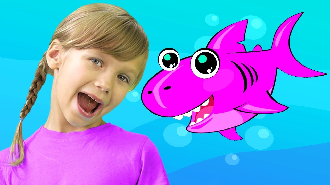 Baby Shark Song Nursery Rhymes for Children with New Baby ...