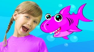 Baby Shark Song Nursery Rhymes for Children with New Baby Songs 2018!
