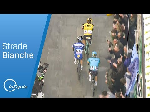 Strade Bianche 2019 | Men's Highlights | inCycle