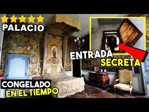 LUJOSO PALACIO ABANDONADO CONGELADO EN EL TIEMPO (parte 2) | Desastrid Vlogs