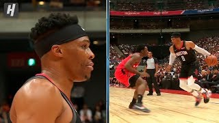 Russell Westbrook First Points as a Rocket | October 8, 2019 | 2019 NBA Preseason
