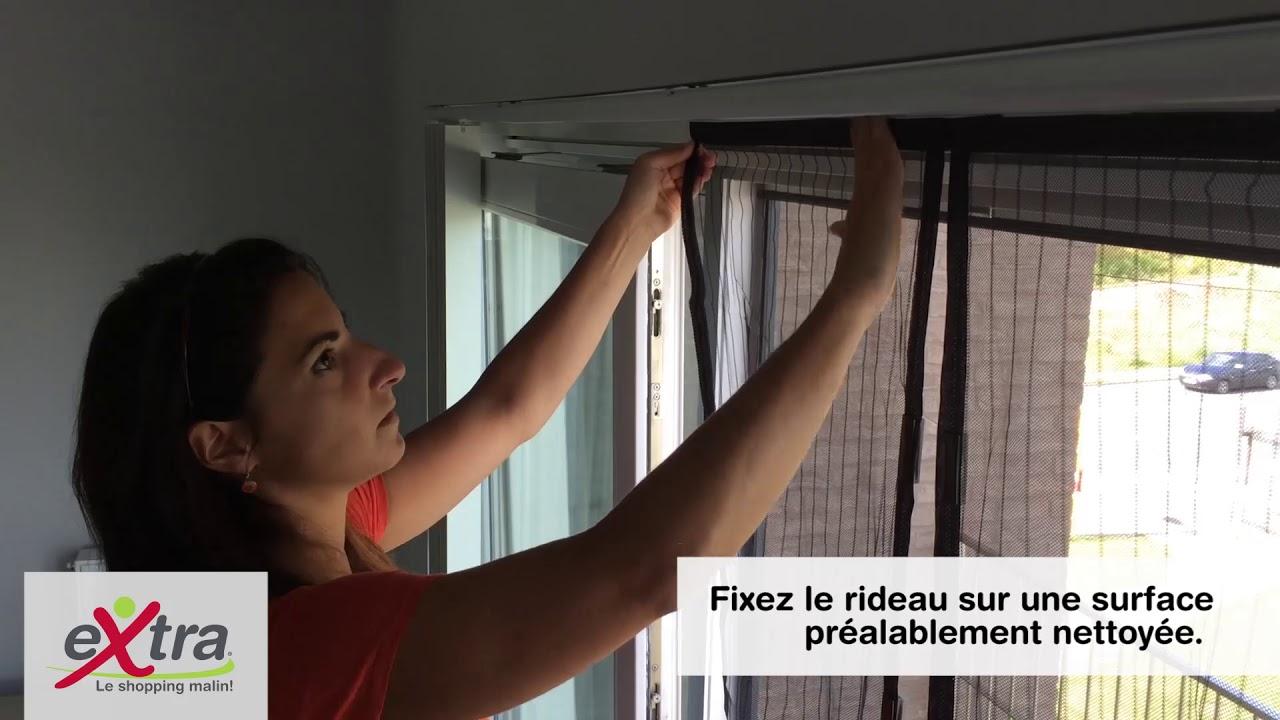 rideau anti moustique magnetique