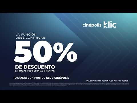 Aprovecha estos beneficios en Cinépolis Klic para Socios Club Cinépolis