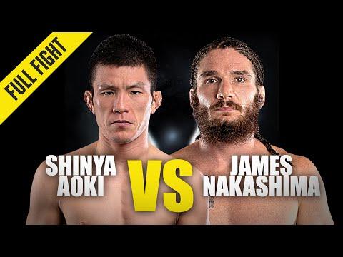 Shinya Aoki vs. James Nakashima   ONE Championship Full Fight