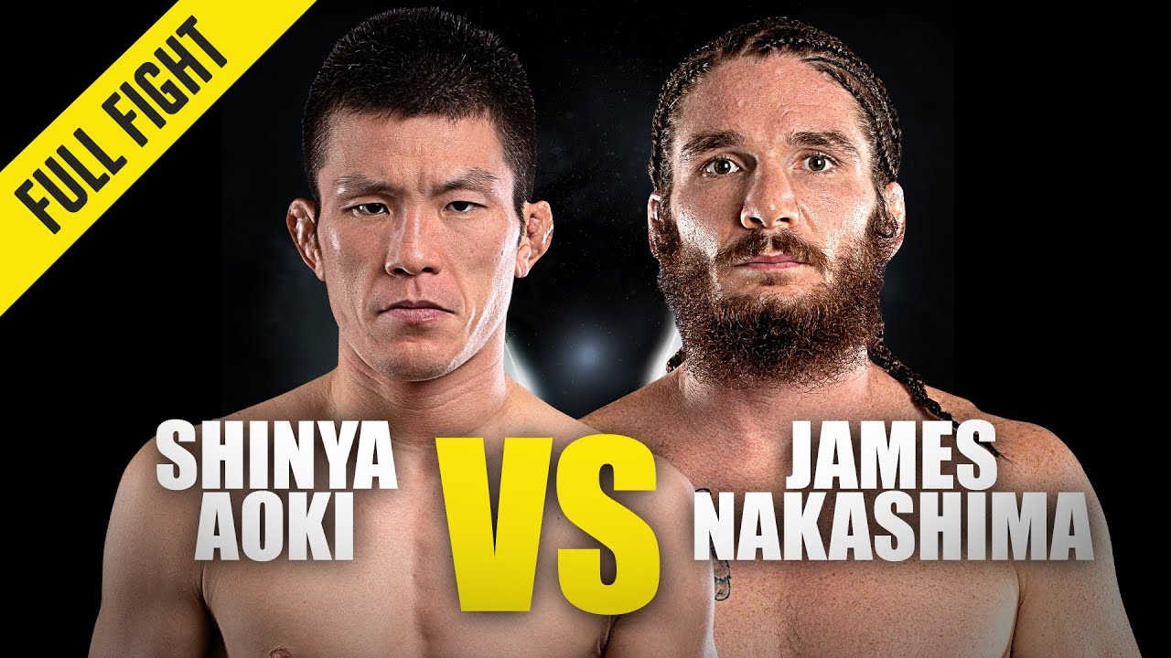 Shinya Aoki vs. James Nakashima | ONE Championship Full Fight