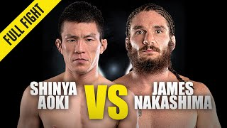 Shinya Aoki vs. James Nakashima | ONE Championship Full Fight