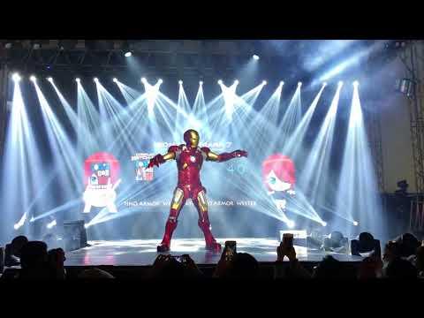 Killerbody Iron Man Suit Comic Con Asia 2018 Full Armor Wearable Cosplay Manila