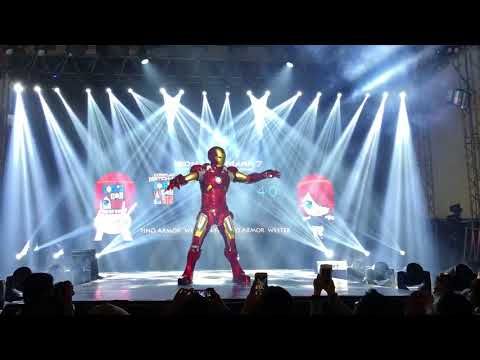 Killerbody Iron Man Suit Comic Con Asia 2018 Full Armor Wearable Cosplay Manila