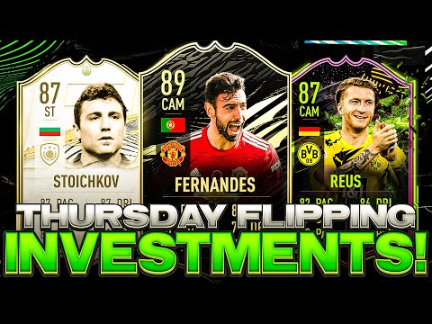 THURSDAY FLIPPING INVESTMENTS! WHEN TO BUY RTTF TEAM 2! FIFA 21 Ultimate Team