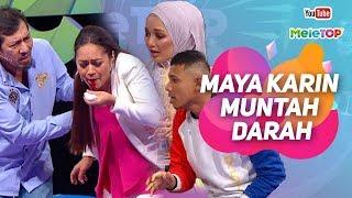 Download Video Maya Karin  muntah darah di set MeleTOP?   Syamsul Yusof & Nasir Bilal Khan MP3 3GP MP4
