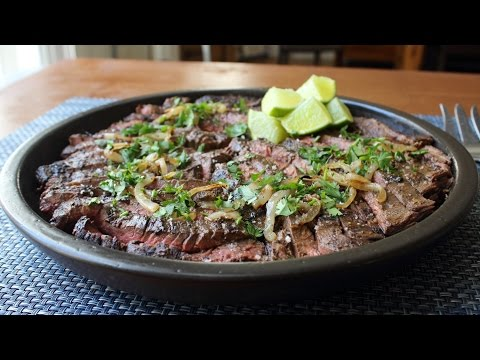 Grilled Mojo Beef - Cuban-Inspired Marinated Skirt Steak Recipe