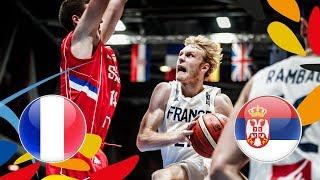France v Serbia - Full Game - Quarter-Finals - FIBA U20 European Championship 2018