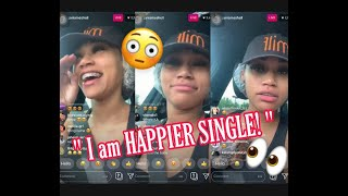 Baixar JANIA BANIA says SHE'S happier SINGLE and MEN DEPRESS HER! on INSTAGRAM LIVE part 1( May 8, 2019)